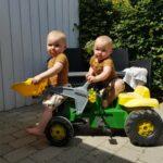 En lille tur på Traktoren